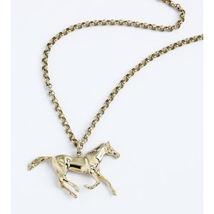 Galloping Horse Pendant